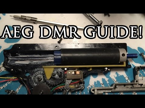 How YOU can build your own Airsoft DMR - a Comprehensive video guide.