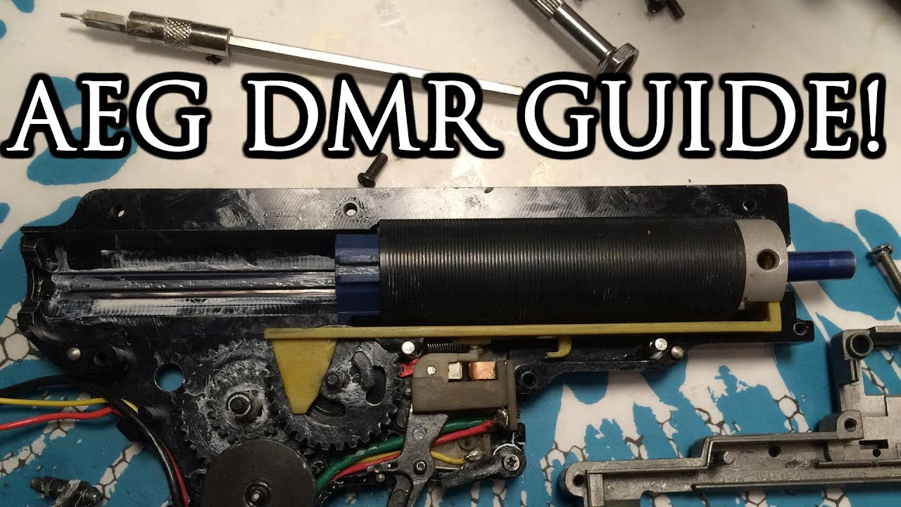 How YOU can build your own Airsoft DMR - a Comprehensive video guide