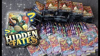 My Best *HIDDEN FATES* Pokemon Booster Pack Opening!!!