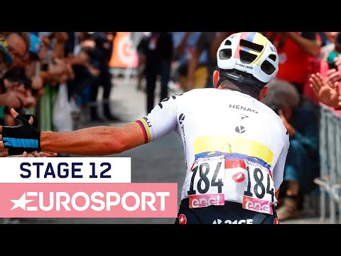 Giro d'Italia 2018 | Stage 12 Highlights | Cycling | Eurosport
