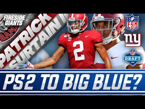 New York Giants Rumored to Like Alabama CB Patrick Surtain, Should They Draft Him at 11?