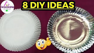 8 Best out of waste paper plates crafts   Easy paper plate crafts for kids   Crafts for kids