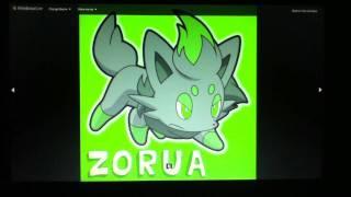 A tribuete to Zorua and Zoroark