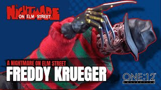 Mezco One:12 Collective A Nightmare on Elm Street Freddy Krueger   Video Review HORROR