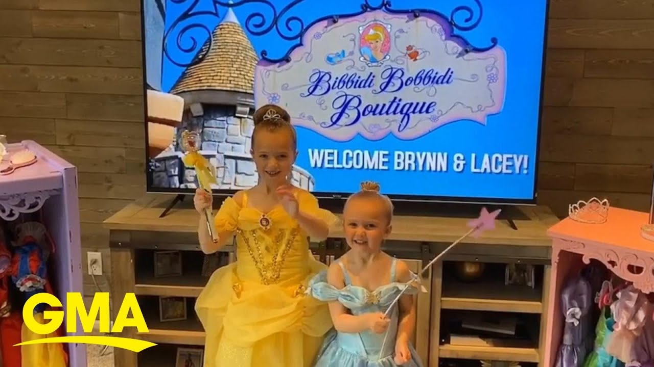 Download Mom and dad recreate Walt Disney World boutique after family trip was canceled l GMA Digital