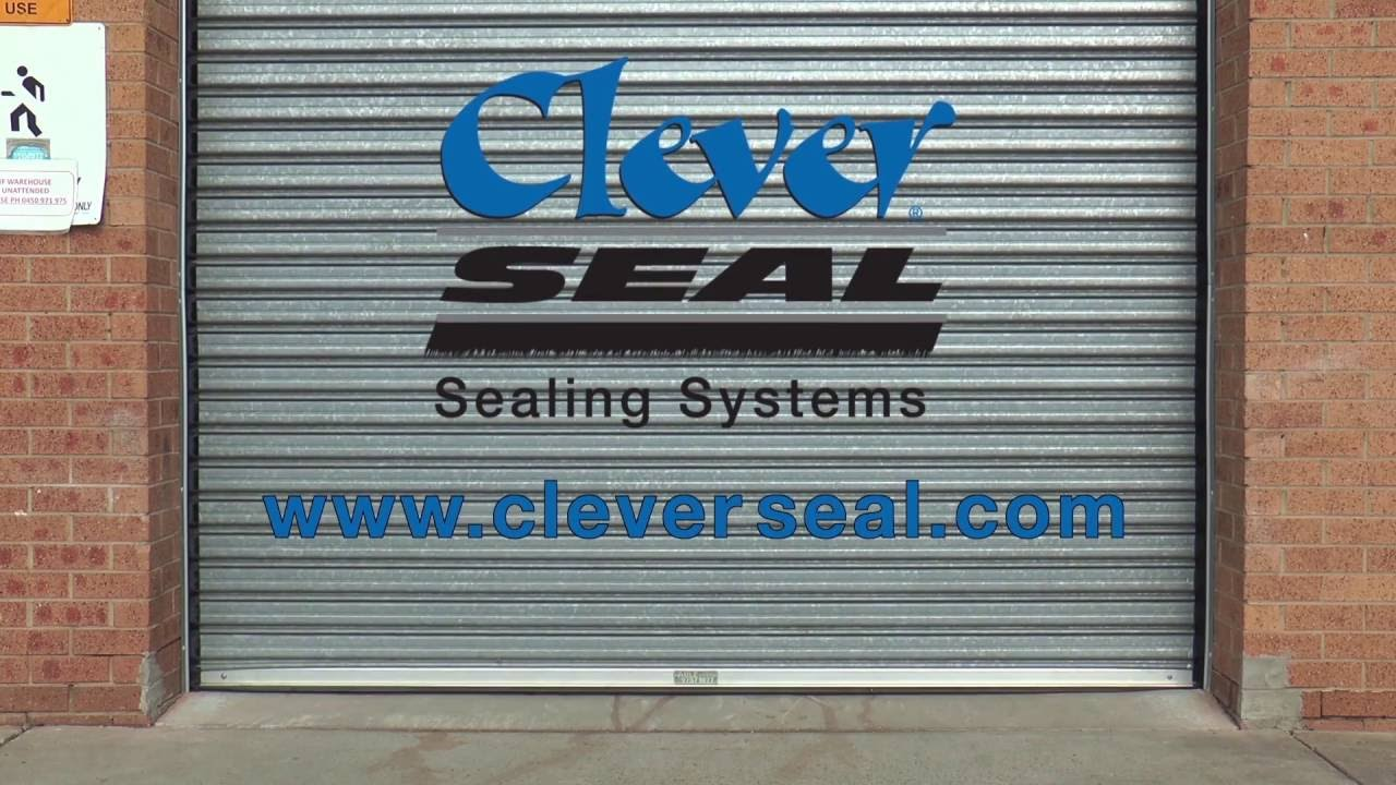 Cleverseal Commercial Door Garage Door Seals Youtube