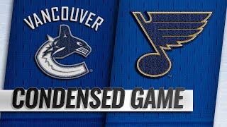 12/09/18 Condensed Game: Canucks @ Blues