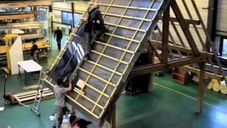 Montage du capteur solaire thermique SLIMSOL par CLIPSOL
