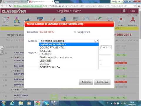 Formazione per docenti scuola primaria Montemurlo registro elettronico Spaggiari 04-09-2015