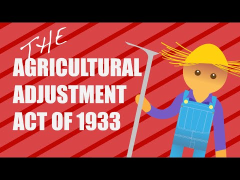 - INFOGRAPHIC ANIMATED HISTORY - The Agricultural Adjustment Act of 1933