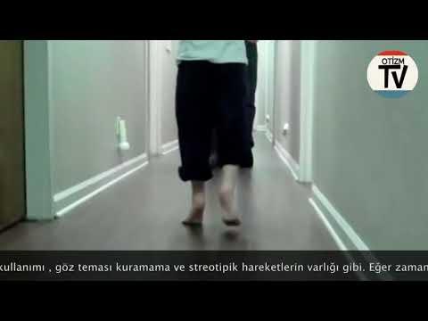 60 Saniye: Toe Walking: Otizmli Çocuklarda Parmak Uçlarında Yürüme