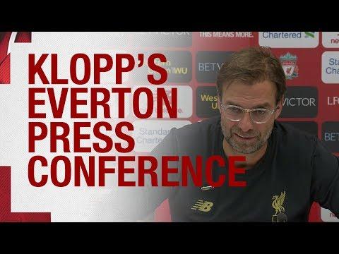 Jürgen Klopp's Pre-match Press Conference   Everton