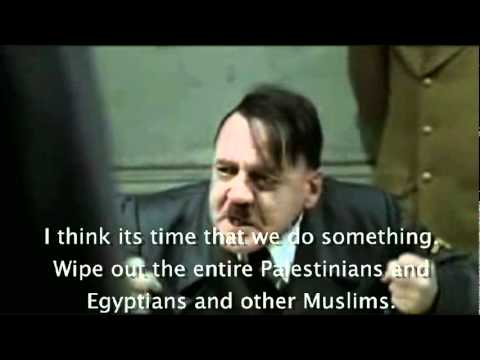 Hitlers reaction to Egypt cutting gas and oil from Israel