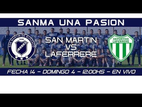 Fecha 14: San Martín de Burzaco vs Laferrere - EN VIVO