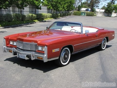1976 Cadillac Eldorado Convertible for Sale - YouTube