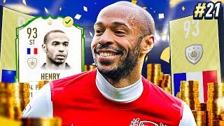 BUYING THE 93 RATED THIERRY HENRY! PRIME ICON SEASON! MMT #21