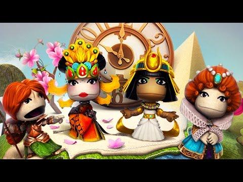 LittleBigPlanet 3 - Women in History Costume Pack Showcase