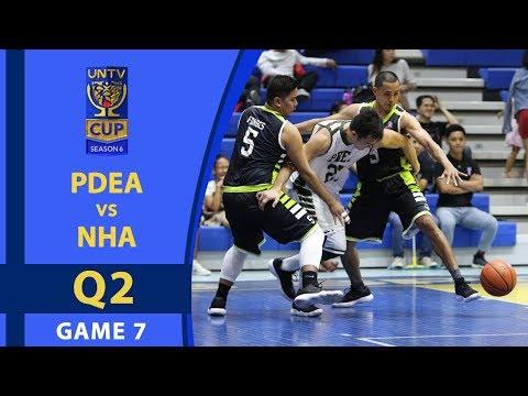 UNTV Cup 6: PDEA Drug Busters vs. NHA Builders - Q2