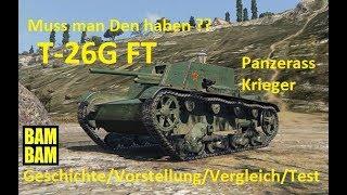 World of Tanks Replay 0087 (deutsch) T-26G FT - Geschichte/Vergleich/Test !