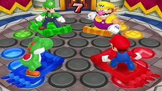 Mario Party: Island Tour Mini Games - Yoshi Vs Mario Vs Luigi Vs Wario (Master CPU)