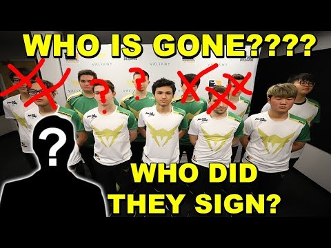 LA VALIANT KICKING HALF THIER TEAM? SIGN KOREAN TRACER, SISTER TEAM DEAD, WHO IS BEING KICKED?