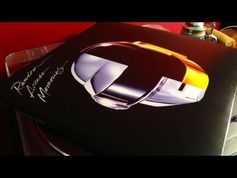 Daft Punk Random Access Memories Vinyl Unboxing