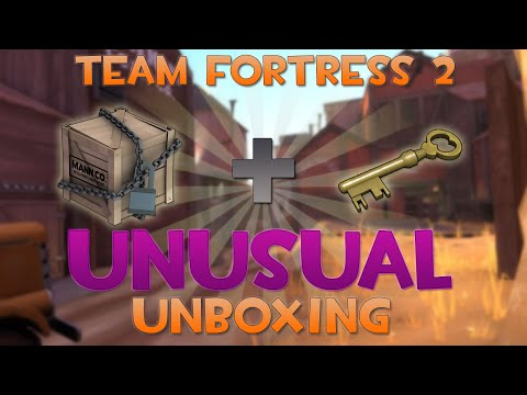 Tf2 Unusual Unboxing