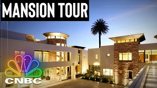 TOUR ONE OF THE MOST EXPENSIVE PROPERTIES IN THE US | Secret Lives Of The Super Rich