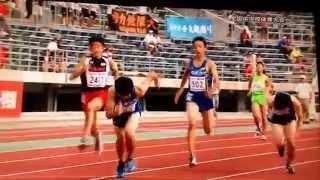 全国中学体育大会〜陸上競技の部〜400mリレー男子決勝       (香川全中)