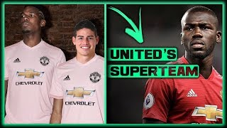 TRANSFER NEWS! 5 Players MAN UNITED Need To SIGN To Build A Future SUPERTEAM ft James & Koulibaly