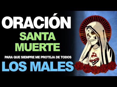 🙏 Oración Nocturna a la Santa Muerte ¡PROTÉGEME DE LOS MALES! 🙇