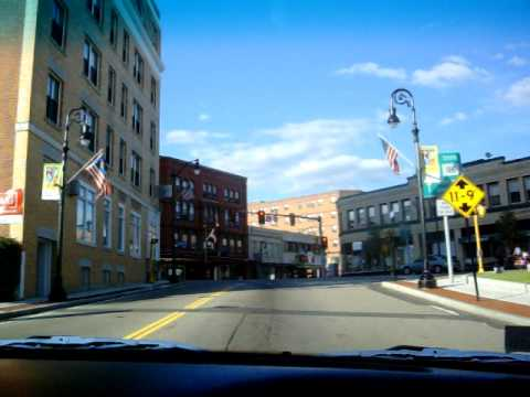 Driving in Attleboro, Mass. on a nice day , July 2009