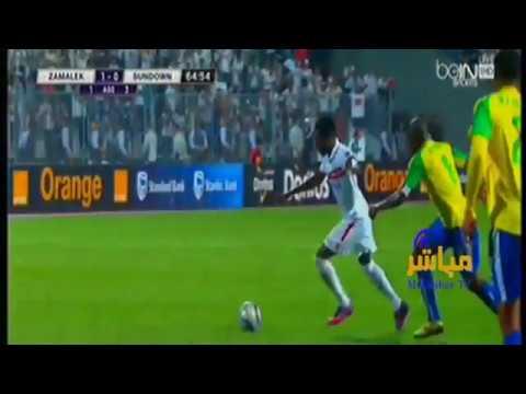 اهداف الزمالك وصن داونز 1 0 اليوم 23 10 2016 نهائي دوري ابطال