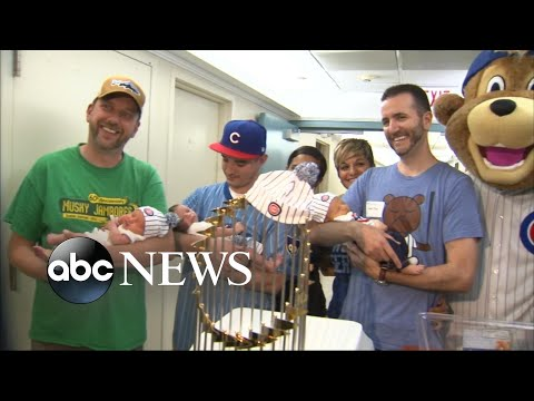 Chicago hospital celebrates baby boom 9 months after Cubs' World Series win