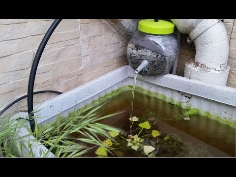 Filtro casero para acuarios y estanques 1 disponibles 2 for Estanques caseros