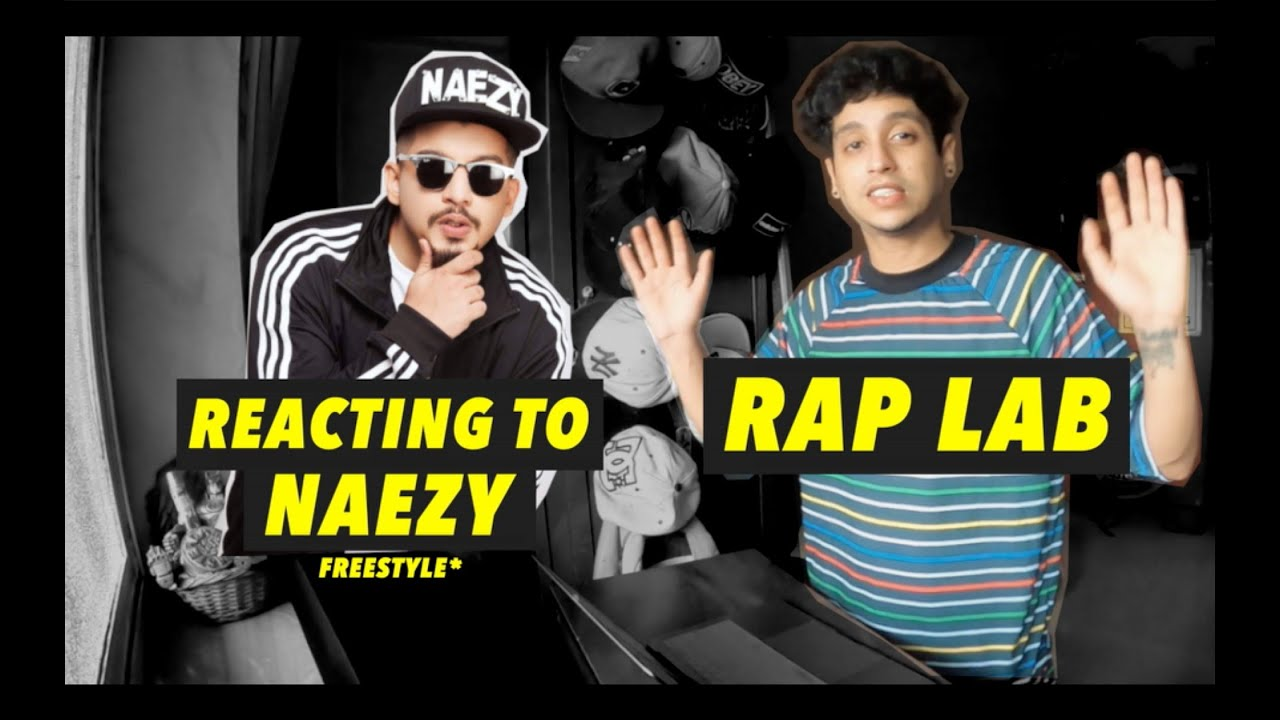 NAEZY CANT FREESTYLE? | REACTING TO NAEZY THE BAA | RAP LAB EP 4
