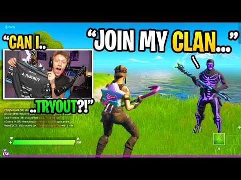I Joined A New Fortnite Team...