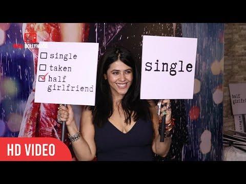 Ekta kapoor At Half Girlfriend Success Party   Viralbollywood