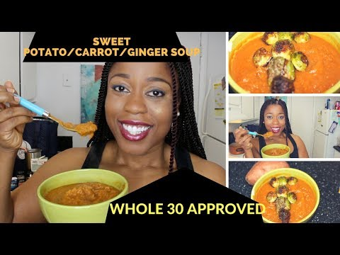 episode-44:-vegan-sweet-potato/carrot-ginger-soup-(-whole-30/paleo)