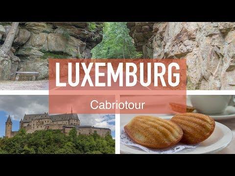 Roadtrip quer durch Luxemburg #Cabriotour