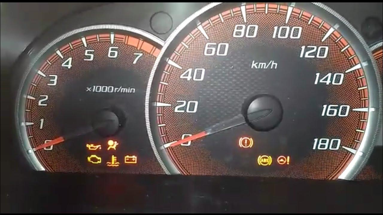 Lampu Indikator Grand New Avanza Harga All Agya Trd Penjelasan Tanda Pada Dashboard Mobil Spidometer Khususnya Toyota