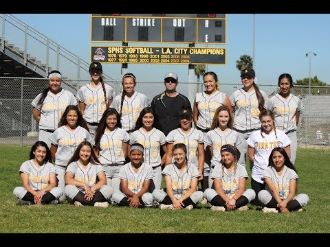 San Pedro High School Softball 2017 Tribute