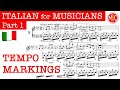 Gambar cover ITALIAN forIANS 1 - Tempo markings   Italianal Terms