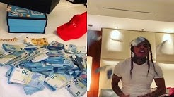 6ix9ine flexes with money he made on European Tour!