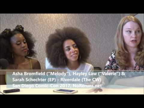 Riverdale Q&A with Asha Bromfield, Hayley Law & Sarah Schechter (SDCC 2017)