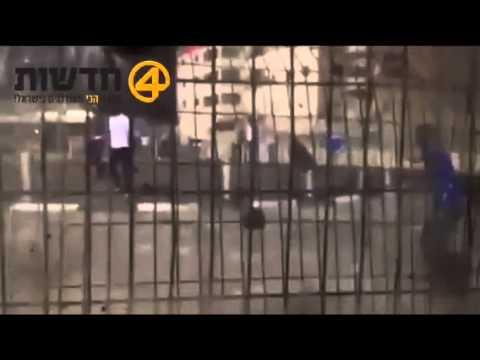 טירוף: ערבים תוקפים עמדת שמירה