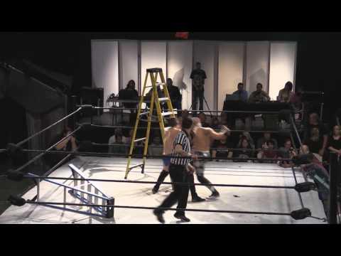 Barrett Brown vs. Ricky Starks vs. Sammy Guevara: Ladder Match