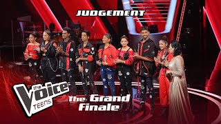 Judgement | Grand Finale | The Voice Teens Sri Lanka