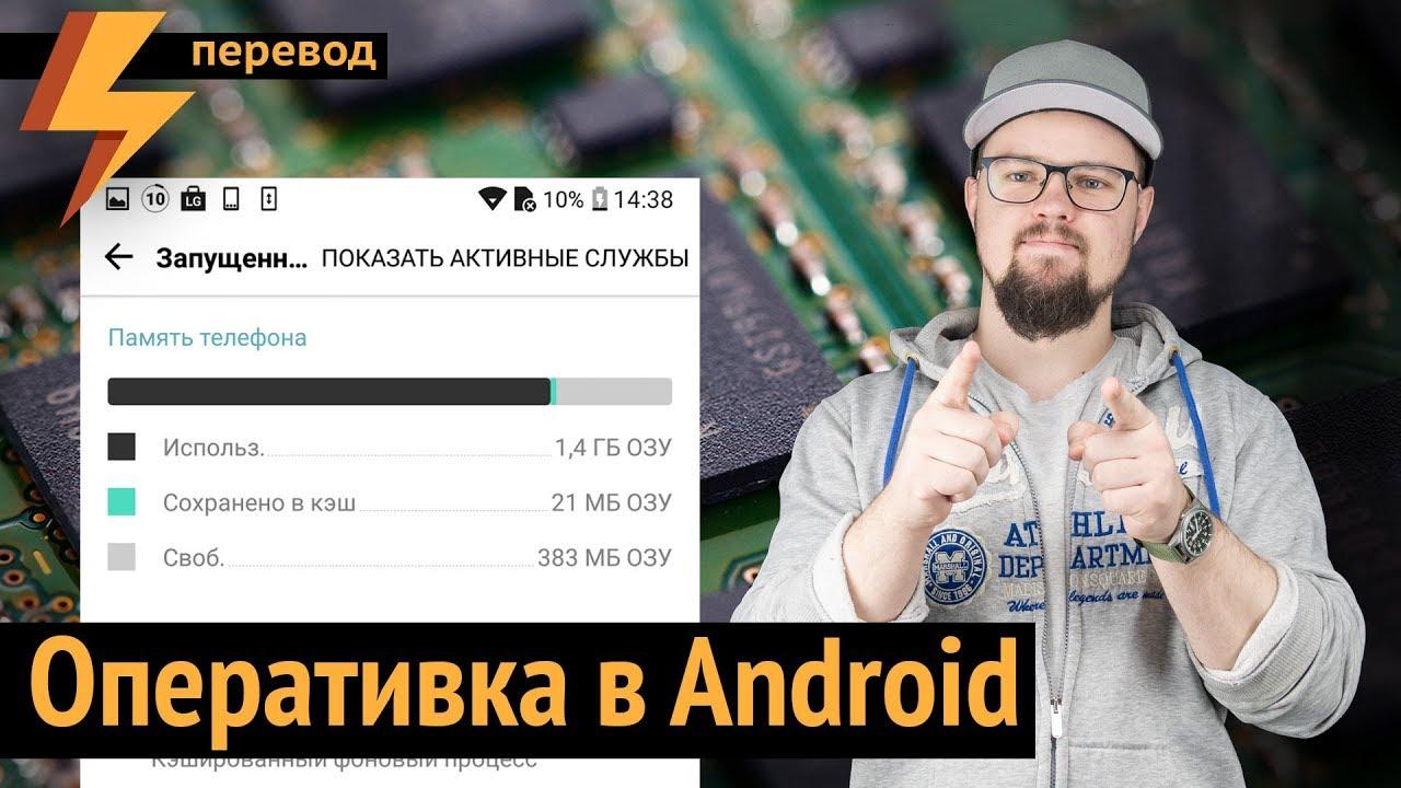Как работает Оперативная Память в Android (перевод)