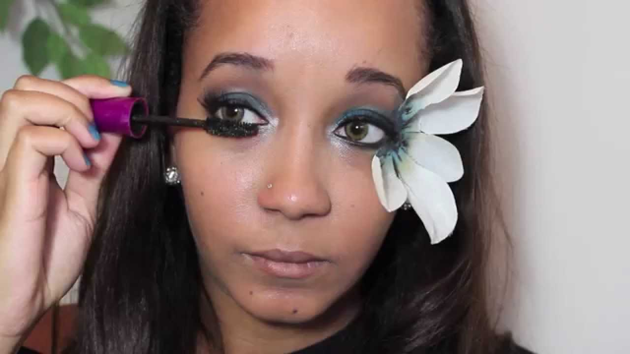 Fantasy Flower Makeup Tutorial Nyx Face Awards 2014 Entry